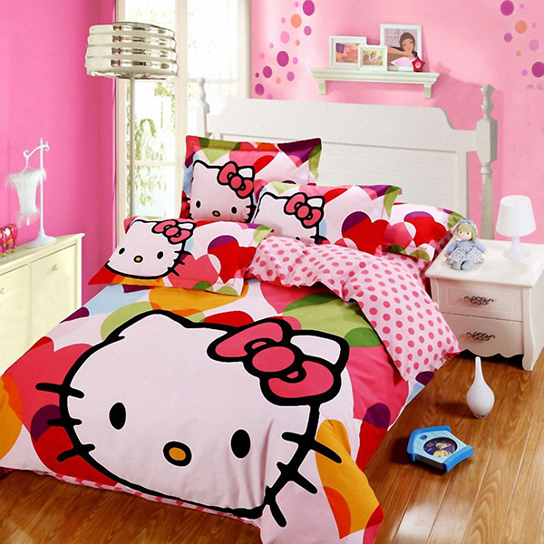 Hello Kitty Bedroom Designs Every Girl Wants To Own Pink Heart String