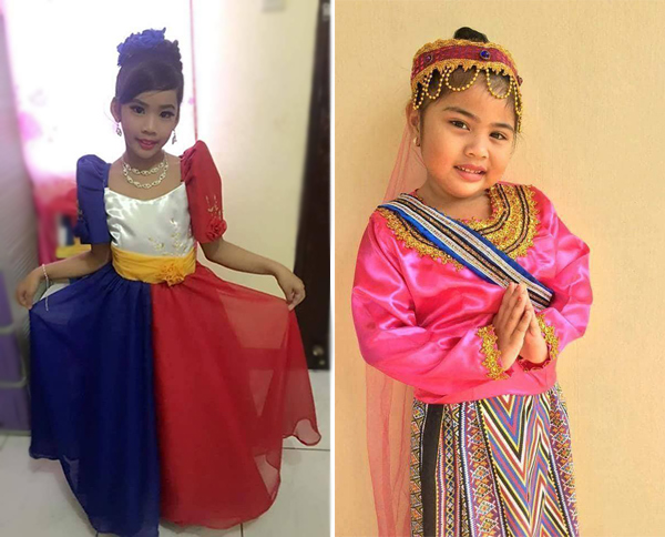 Where To Buy Buwan Ng Wika Costumes For Your Kids Pink Heart String